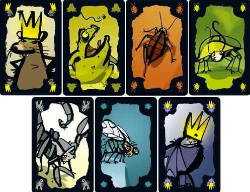 Kakerlaken_Poker_scarafaggi_carte_Drei_Magier