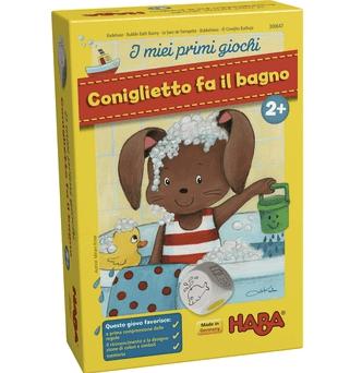 Coniglietto fa il bagno 2 primi giochi parpignol - Giochi di fare il bagno ...