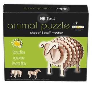 animal puzzle in legno