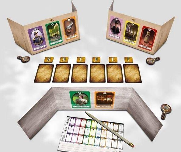 Gioco da Tavolo di Deduzione e Investigazione dV Giochi DVG9330-13 Indizi